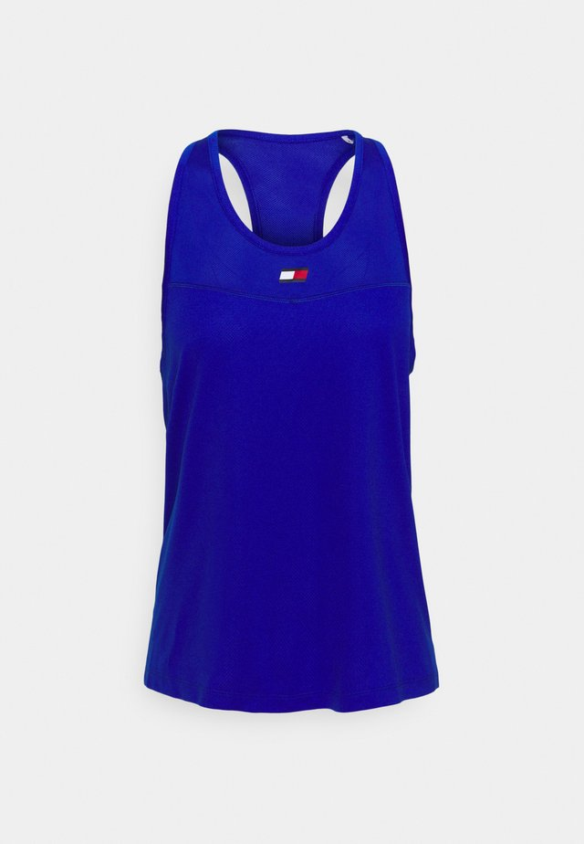 TIGHT TANK  - Sports shirt - cobalt