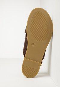 Inuovo - Sandaler - mntrl brown nbr - 2