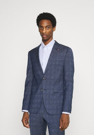 FLEX CHECK SLIM FIT SUIT SET - Oblek - blue