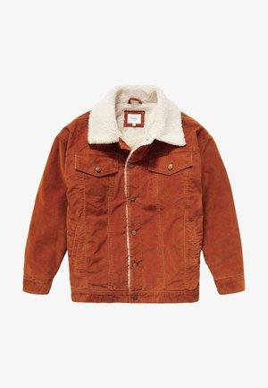 SHELBY  - Winter jacket - dark brick