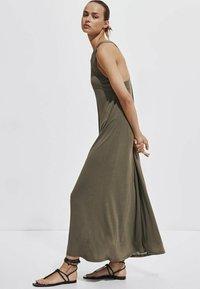Massimo Dutti - Maxi dress - khaki - 3