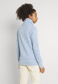 Ragwear - RYLIE MARINA ZIP - Mikina na zip - light blue - 2