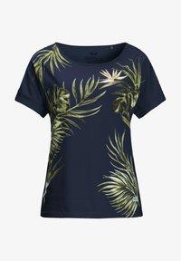 Jack Wolfskin - Print T-shirt - midnight blue - 2