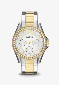 Fossil - RILEY - Horloge - silver-coloured/gold-coloured - 1