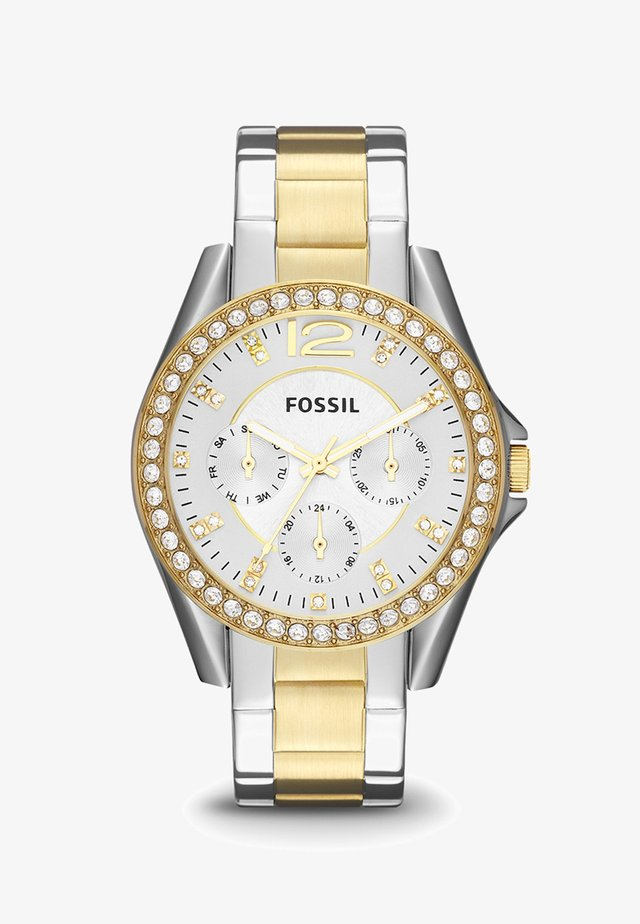 RILEY - Horloge - silver-coloured/gold-coloured