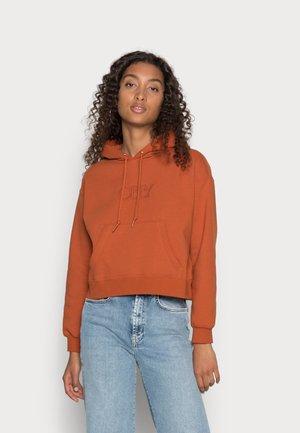 REGAL HOOD - Sweatshirt - ginger