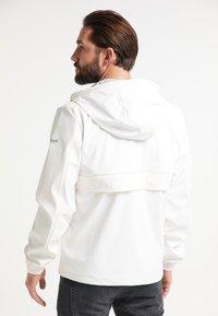Schmuddelwedda - Waterproof jacket - white - 2