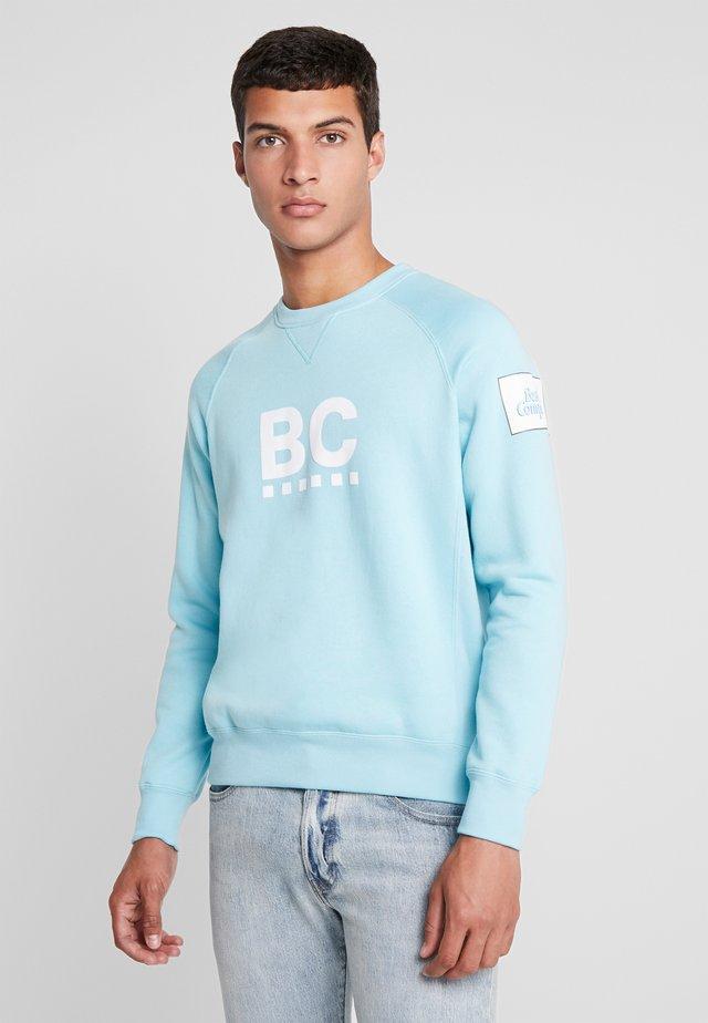CREW NECK RAGLAN - Sweater - cielo