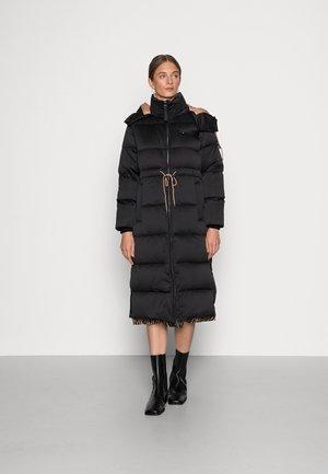ELEVATED SHINE LONG COAT - Winter coat - black
