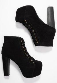 Jeffrey Campbell - LITA - Kotníková obuv na vysokém podpatku - black - 3