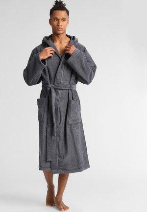 Dressing gown - grau meliert
