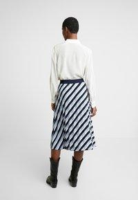 Opus - RUDY - A-line skirt - just blue - 2