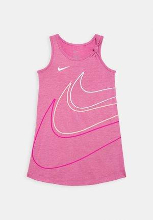 GIRLS KNOT TANK DRESS - Jersey dress - magic flamingo