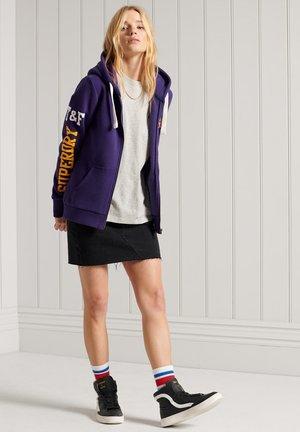 COLLEGIATE ATHLETIC  - veste en sweat zippée - parachute purple