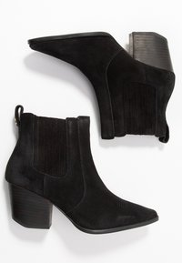 Superdry - THE EDIT CHUNKY CHELSEA - Ankle boots - black - 3