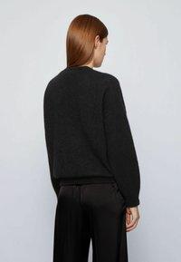 BOSS - FILLALLON - Pullover - black - 3