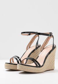 Even&Odd Wide Fit - High heeled sandals - black - 3