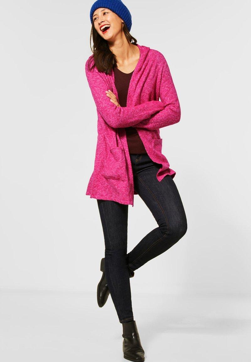 Street One - GROBSTRICK - Cardigan - pink