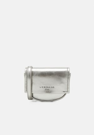 NECK ACCESSORIE - Across body bag - metallic grey