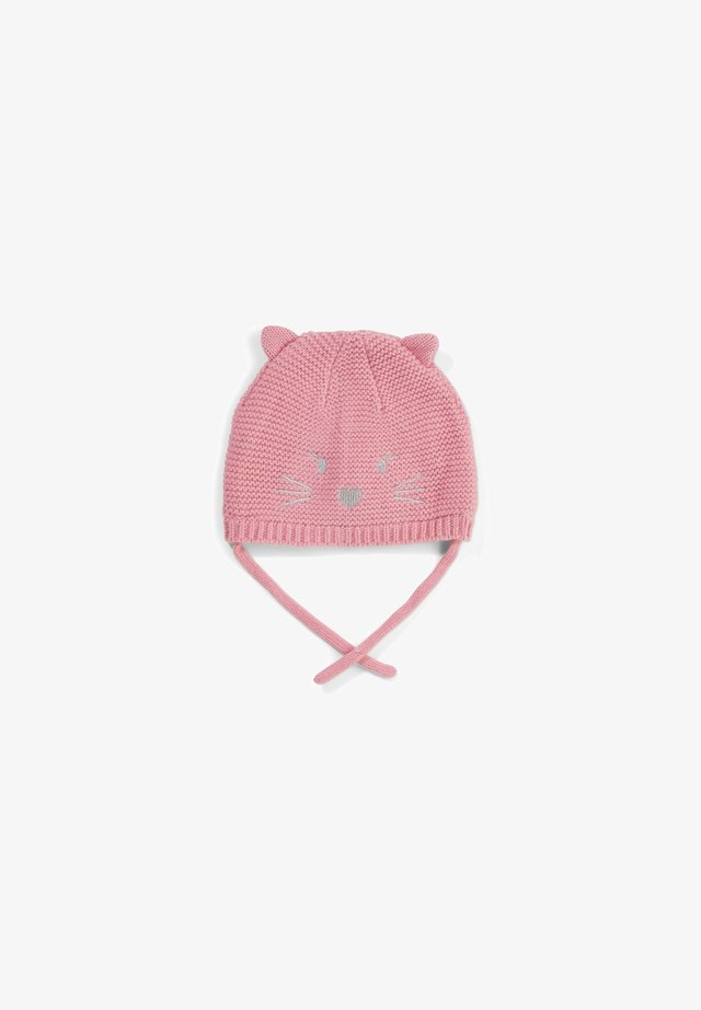 Beanie - light pink knit