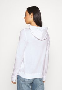 Hollister Co. - TERRY TECH CORE - Hoodie - white - 2