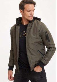 DeFacto - Light jacket - khaki - 0