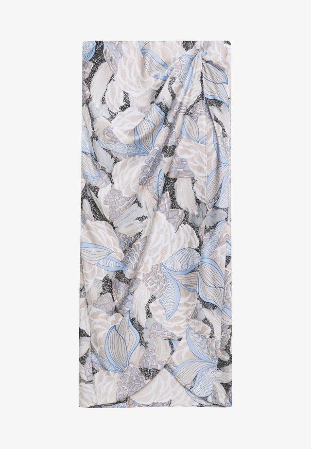PIGA - Zavinovací sukně - spring blue