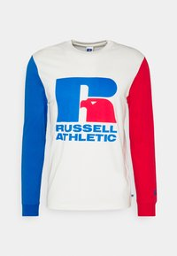 Russell Athletic Eagle R - HENRY ICONIC REGULAR LONG SLEEVE TEE UNISEX - Print T-shirt - soya - 0