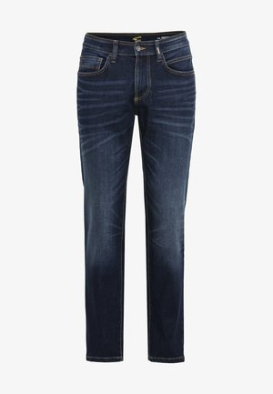 REGULAR FIT JEANS - Slim fit jeans - dark blue used