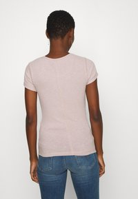 Abercrombie & Fitch - SLIM TEE - Basic T-shirt - pink - 2
