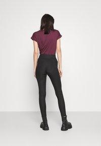 Pieces - PCHAKA  - Leggings - Trousers - black - 2