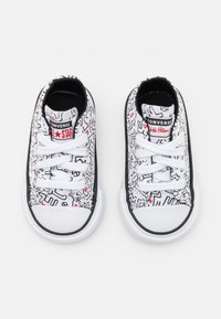Converse - CHUCK TAYLOR ALL STAR UNISEX - Sneakers laag - white/black/red - 3