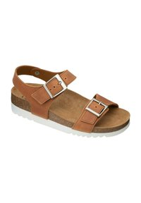 Scholl - Wedge sandals - braun - 1