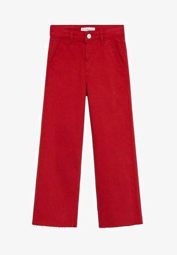 CULOTTEC - Straight leg jeans - rouge