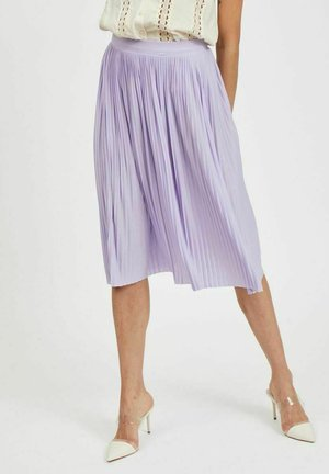 FALTENDETAIL - Pleated skirt - lavender