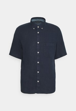 BUTTON DOWN SHORT SLEEVE - Camicia - total eclipse