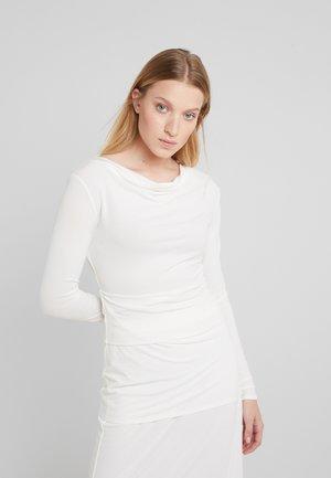 KANIA - Long sleeved top - soft white