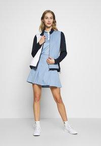 Cross Sportswear - JACKET - Kurtka sportowa - blue - 1