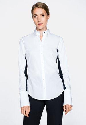 MONICA-FKN - Button-down blouse - weiß blau