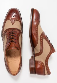 Cheaney - EDWIN  - Lace-ups - sand - 1
