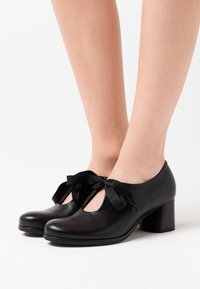 lilimill - MALABRY - Lace-up heels - twister nero - 0