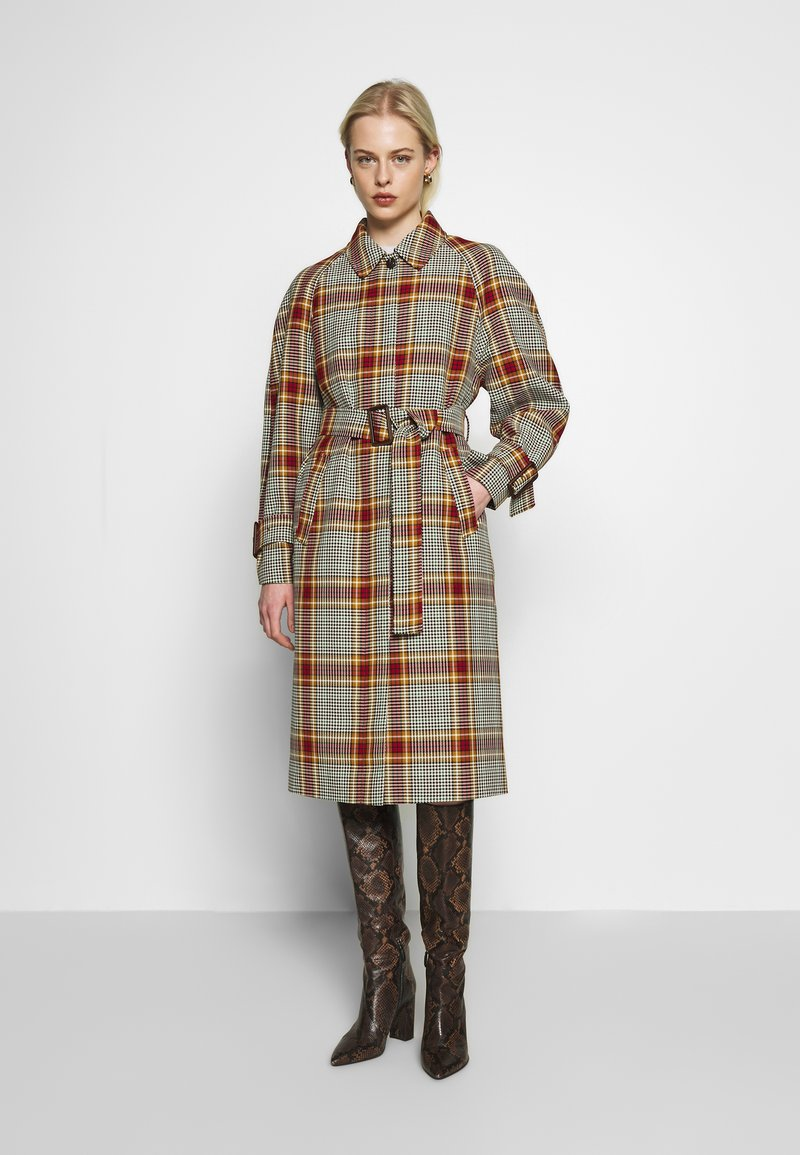 Soeur - GADGET - Klasyczny płaszcz - multico