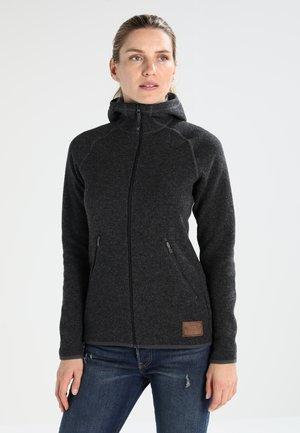 WHOOLY HOOD  - Fleece jacket - magnetite