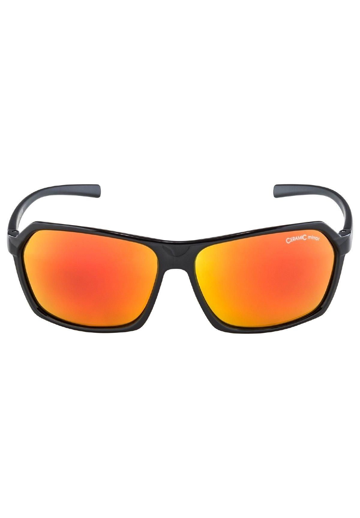Herren FINETY - Sonnenbrille - black/black matt