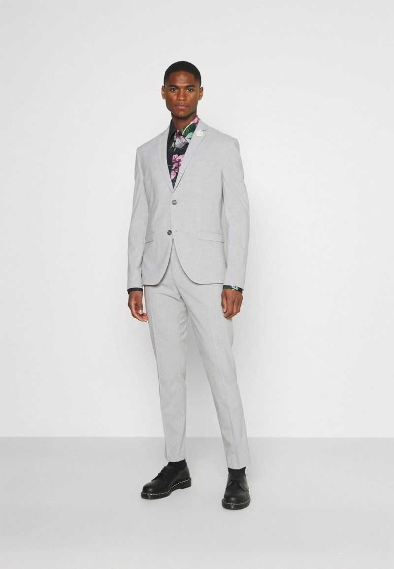 Isaac Dewhirst - PLAIN LIGHT SUIT - Completo - grey