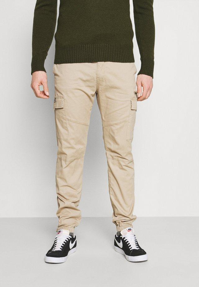 TRTECH - Cargo trousers - work beige
