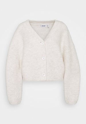 HILLEVI HAIRY  - Cardigan - white dusty light