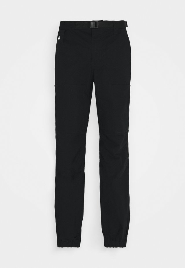 SEA BED - Trousers - black