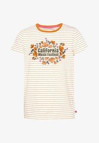 WE Fashion - T-shirt imprimé - orange - 2