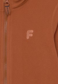 Lindex - MINI JACKET FIX UNISEX - Fleece jacket - brown - 2